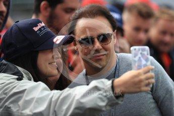 World © Octane Photographic Ltd. Formula 1 - Italian GP - Paddock. Felipe Massa. Autodromo Nazionale di Monza, Monza, Italy. Saturday 1st September 2018.
