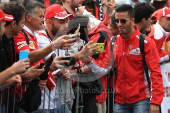 World © Octane Photographic Ltd. Formula 1 – Italian GP - Paddock. Antonio Fuoco. Autodromo Nazionale di Monza, Monza, Italy. Saturday 1st September 2018.