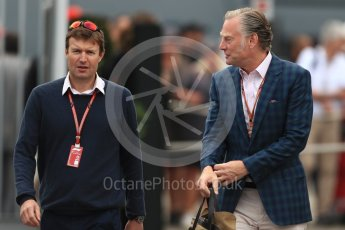 World © Octane Photographic Ltd. Formula 1 - Italian GP - Paddock. Sean Bratches - Managing Director, Commercial Operations of Liberty Media. Autodromo Nazionale di Monza, Monza, Italy. Sunday 2nd September 2018.