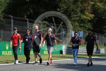 World © Octane Photographic Ltd. GP3 – Italian GP – Track Walk. Arden International. Monza, Italy. Thursday 30th August 2018.