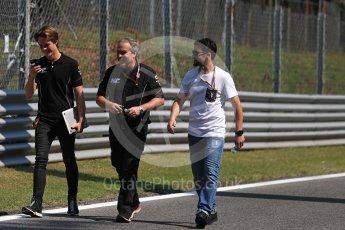 World © Octane Photographic Ltd. FIA Formula 2 (F2) – Italian GP - Track Walk. MP Motorsport - Ralph Boschung. Monza, Italy. Thursday 30th August 2018.