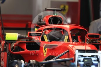 World © Octane Photographic Ltd. Formula 1 – Italian GP - Track Walk. Scuderia Ferrari SF71-H. Autodromo Nazionale di Monza, Monza, Italy. Thursday 30th August 2018.