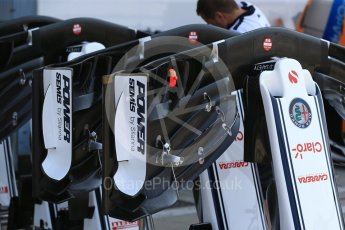 World © Octane Photographic Ltd. Formula 1 – Italian GP - Track Walk. Alfa Romeo Sauber F1 Team C37. Autodromo Nazionale di Monza, Monza, Italy. Thursday 30th August 2018.