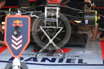 World © Octane Photographic Ltd. Formula 1 – Italian GP - Track Walk. Aston Martin Red Bull Racing TAG Heuer RB14. Autodromo Nazionale di Monza, Monza, Italy. Thursday 30th August 2018.