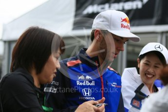 World © Octane Photographic Ltd. Formula 1 – Japanese GP - Paddock. Scuderia Toro Rosso STR13 – Pierre Gasly. Suzuka Circuit, Japan. Friday 5th October 2018.