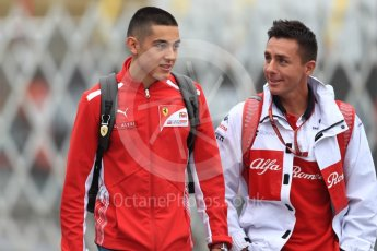World © Octane Photographic Ltd. Formula 1 - Japanese GP - Paddock. Giuliano Alesi- Scuderia Ferrari Young Driver. Suzuka Circuit, Japan. Friday 5th October 2018.