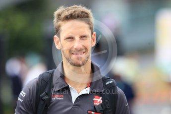 World © Octane Photographic Ltd. Formula 1 – Japanese GP - Paddock. Haas F1 Team VF-18 – Romain Grosjean. Suzuka Circuit, Japan. Saturday 6th October 2018.