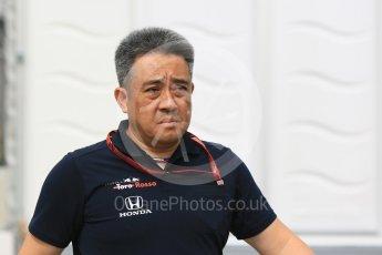 World © Octane Photographic Ltd. Formula 1 - Japanese GP - Paddock. Masashi Yamamoto - General Manager of Honda's motorsport division. Suzuka Circuit, Japan. Saturday 6th October 2018.