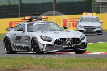 World © Octane Photographic Ltd. Formula 1 – Japanese GP - Practice 1. Mercedes AMG Safety and Medical cars. Suzuka Circuit, Japan. Friday 5th October 2018.