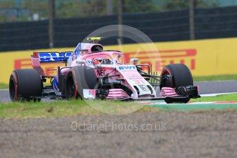 World © Octane Photographic Ltd. Formula 1 – Japanese GP - Practice 1. Racing Point Force India VJM11 - Esteban Ocon. Suzuka Circuit, Japan. Friday 5th October 2018.