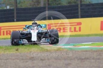 World © Octane Photographic Ltd. Formula 1 – Japanese GP – Practice 1. Mercedes AMG Petronas Motorsport AMG F1 W09 EQ Power+ - Lewis Hamilton. Suzuka Circuit, Japan. Friday 5th October 2018.