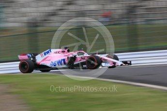 World © Octane Photographic Ltd. Formula 1 – Japanese GP - Practice 1. Racing Point Force India VJM11 - Sergio Perez. Suzuka Circuit, Japan. Friday 5th October 2018.