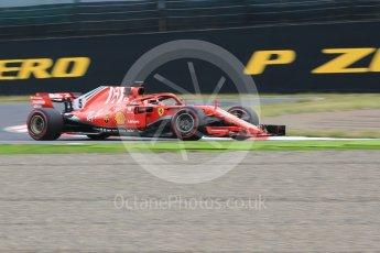 World © Octane Photographic Ltd. Formula 1 – Japanese GP - Practice 1. Scuderia Ferrari SF71-H – Sebastian Vettel. Suzuka Circuit, Japan. Friday 5th October 2018.