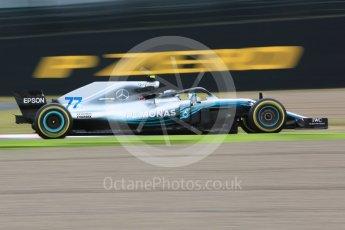 World © Octane Photographic Ltd. Formula 1 – Japanese GP - Practice 1. Mercedes AMG Petronas Motorsport AMG F1 W09 EQ Power+ - Valtteri Bottas. Suzuka Circuit, Japan. Friday 5th October 2018.