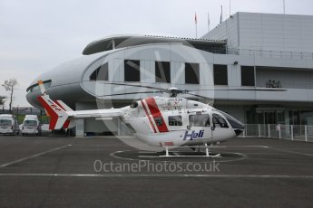 World © Octane Photographic Ltd. Formula 1 – Japanese GP - Practice 1. Medical Helicopter - JA6934 - Airbus Helicopters H145. Suzuka Circuit, Japan. Friday 5th October 2018.