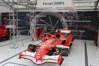 World © Octane Photographic Ltd. Formula 1 – Japanese GP - Practice 1. F1 Legends display - Ferrari 248F1. Suzuka Circuit, Japan. Friday 5th October 2018.