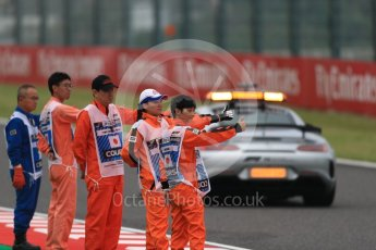World © Octane Photographic Ltd. Formula 1 – Japanese GP - Practice 1. Mercedes AMG Safety Car. Suzuka Circuit, Japan. Friday 5th October 2018.