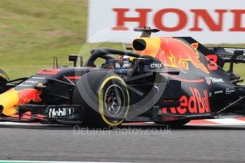 World © Octane Photographic Ltd. Formula 1 – Japanese GP - Practice 1. Aston Martin Red Bull Racing TAG Heuer RB14 – Daniel Ricciardo. Suzuka Circuit, Japan. Friday 5th October 2018.