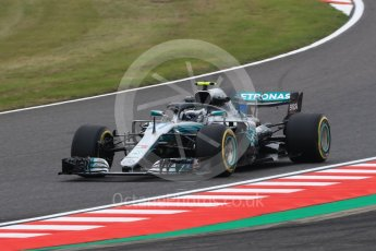 World © Octane Photographic Ltd. Formula 1 – Japanese GP - Practice 1. Mercedes AMG Petronas Motorsport AMG F1 W09 EQ Power+ - Valtteri Bottas. Suzuka Circuit, Japan. Friday 5th October 2018.