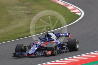 World © Octane Photographic Ltd. Formula 1 – Japanese GP - Practice 1. Scuderia Toro Rosso STR13 – Brendon Hartley. Suzuka Circuit, Japan. Friday 5th October 2018.