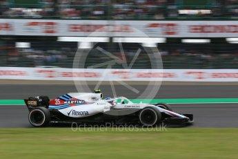 World © Octane Photographic Ltd. Formula 1 – Japanese GP - Practice 2. Williams Martini Racing FW41 – Sergey Sirotkin. Suzuka Circuit, Japan. Friday 5th October 2018.