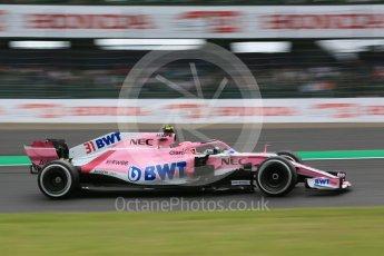 World © Octane Photographic Ltd. Formula 1 – Japanese GP - Practice 2. Racing Point Force India VJM11 - Esteban Ocon. Suzuka Circuit, Japan. Friday 5th October 2018.
