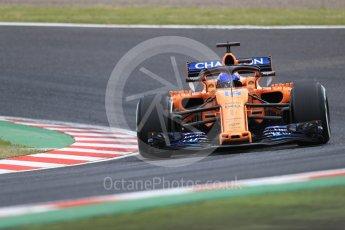World © Octane Photographic Ltd. Formula 1 – Japanese GP - Practice 2. McLaren MCL33 – Fernando Alonso. Suzuka Circuit, Japan. Friday 5th October 2018.