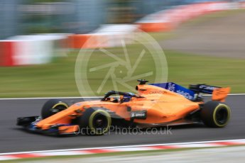 World © Octane Photographic Ltd. Formula 1 – Japanese GP - Practice 3. McLaren MCL33 – Fernando Alonso. Suzuka Circuit, Japan. Saturday 6th October 2018.