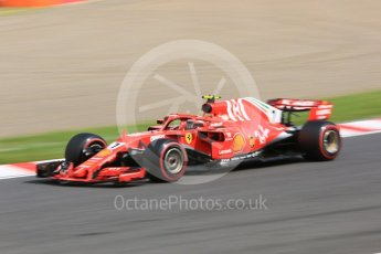 World © Octane Photographic Ltd. Formula 1 – Japanese GP - Practice 3. Scuderia Ferrari SF71-H – Kimi Raikkonen. Suzuka Circuit, Japan. Saturday 6th October 2018.