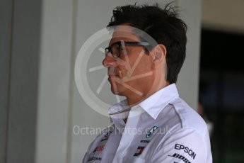 World © Octane Photographic Ltd. Formula 1 - Japanese GP - Practice 3. Toto Wolff - Executive Director & Head of Mercedes - Benz Motorsport. Suzuka Circuit, Japan. Saturday 6th October 2018.