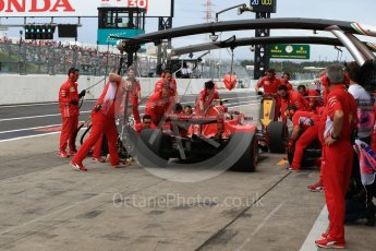 World © Octane Photographic Ltd. Formula 1 – Japanese GP - Practice 3. Scuderia Ferrari SF71-H – Kimi Raikkonen. Suzuka Circuit, Japan. Saturday 6th October 2018.