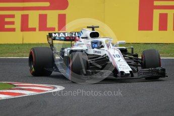World © Octane Photographic Ltd. Formula 1 – Japanese GP - Qualifying. Williams Martini Racing FW41 – Lance Stroll. Suzuka Circuit, Japan. Saturday 6th October 2018.