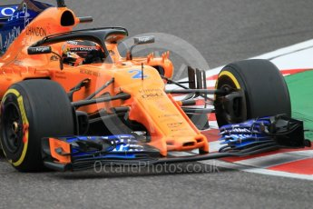 World © Octane Photographic Ltd. Formula 1 – Japanese GP - Qualifying. McLaren MCL33 – Stoffel Vandoorne. Suzuka Circuit, Japan. Saturday 6th October 2018.