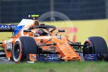 World © Octane Photographic Ltd. Formula 1 – Japanese GP - Qualifying. McLaren MCL33 – Stoffel Vandoorne. Suzuka Circuit, Japan. Saturday 6th October 2018.