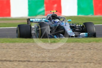World © Octane Photographic Ltd. Formula 1 – Japanese GP - Qualifying. Mercedes AMG Petronas Motorsport AMG F1 W09 EQ Power+ - Valtteri Bottas. Suzuka Circuit, Japan. Saturday 6th October 2018.
