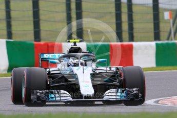 World © Octane Photographic Ltd. Formula 1 – Japanese GP - Qualifying. Mercedes AMG Petronas Motorsport AMG F1 W09 EQ Power+ - Valtteri Bottas. Suzuka Circuit, Japan. Saturday 6th October 2018.
