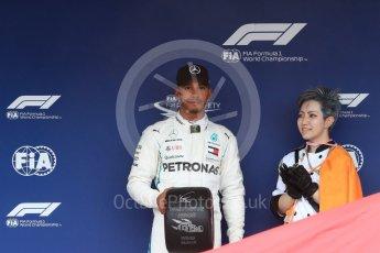 World © Octane Photographic Ltd. Formula 1 – Japanese GP – Qualifying. Mercedes AMG Petronas Motorsport AMG F1 W09 EQ Power+ - Lewis Hamilton. Suzuka Circuit, Japan. Saturday 6th October 2018.