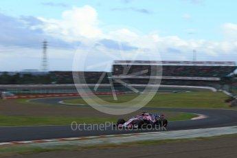 World © Octane Photographic Ltd. Formula 1 – Japanese GP - Qualifying. Racing Point Force India VJM11 - Sergio Perez. Suzuka Circuit, Japan. Saturday 6th October 2018.