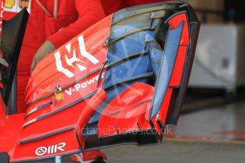 World © Octane Photographic Ltd. Formula 1 – Japanese GP - Pit Lane. Scuderia Ferrari SF71-H front wing - race day setup. Suzuka Circuit, Japan. Sunday 7th October 2018.