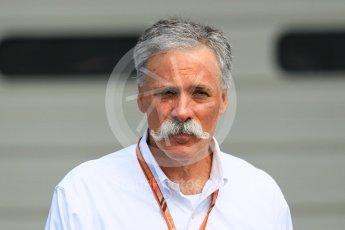 World © Octane Photographic Ltd. Formula 1 - Japanese GP - Paddock. Chase Carey - Chief Executive Officer of the Formula One Group. Suzuka Circuit, Japan. Sunday 7th October 2018.