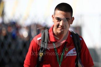 World © Octane Photographic Ltd. Formula 1 - Japanese GP - Paddock. Giuliano Alesi - Ferrari Driver Academy. Suzuka Circuit, Japan. Sunday 7th October 2018.