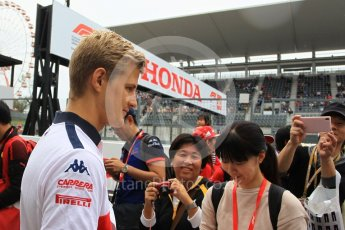 World © Octane Photographic Ltd. Formula 1 – Japanese GP - Paddock. Alfa Romeo Sauber F1 Team C37 – Marcus Ericsson. Suzuka Circuit, Japan. Thursday 4th October 2018.