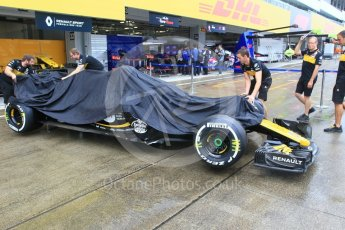 World © Octane Photographic Ltd. Formula 1 – Japanese GP - Pit Lane. Renault Sport F1 Team RS18 – Nico Hulkenberg. Suzuka Circuit, Japan. Thursday 4th October 2018.