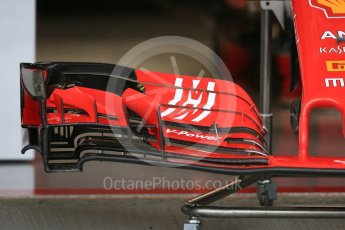 World © Octane Photographic Ltd. Formula 1 – Japanese GP - Pit Lane. Scuderia Ferrari SF71-H. Suzuka Circuit, Japan. Thursday 4th October 2018.
