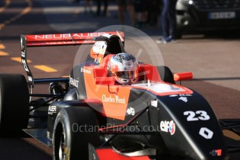 World © Octane Photographic Ltd. Formula Renault 2.0 – Monaco GP - Practice. Monte-Carlo. Tech 1 Racing - Thomas Neubauer. Thursday 24th May 2018.