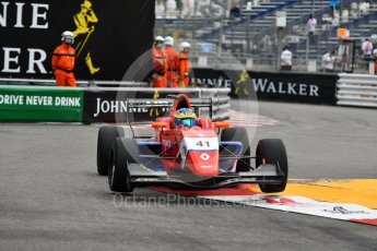 World © Octane Photographic Ltd. Formula Renault 2.0 – Monaco GP - Qualifying. Monte-Carlo. Arden - Oscar Piastri. Friday 25th May 2018.