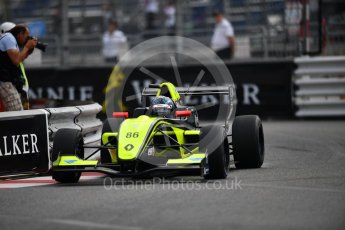 World © Octane Photographic Ltd. Formula Renault 2.0 – Monaco GP - Qualifying. Monte-Carlo. Fortec Motorsports - Christian Hahn. Friday 25th May 2018.