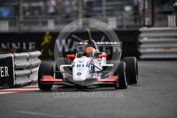World © Octane Photographic Ltd. Formula Renault 2.0 – Monaco GP - Qualifying. Monte-Carlo. JD Motorsport - Lorenzo Colombo. Friday 25th May 2018.
