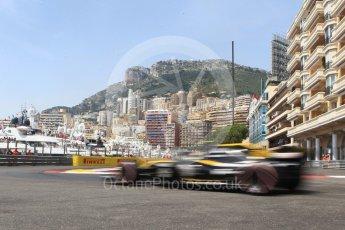 World © Octane Photographic Ltd. Formula 1 – Monaco GP - Practice 3. Renault Sport F1 Team RS18 – Carlos Sainz. Monte-Carlo. Saturday 26th May 2018.
