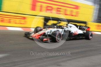 World © Octane Photographic Ltd. Formula 1 – Monaco GP - Practice 3. Haas F1 Team VF-18 – Romain Grosjean. Monte-Carlo. Saturday 26th May 2018.